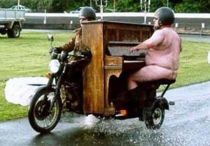 75 Naked Motorcycle Organ Fun